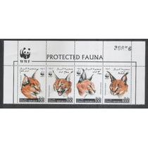 República Da Somália 1998 Fauna Wwf Felinos.