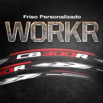 Friso Personalizado Workr Para Qualquer Moto