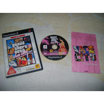 Ps2 - Grand Theft Auto Vice City / Gta / Capcom