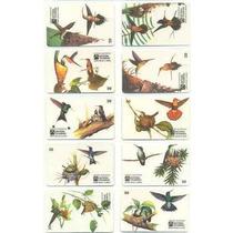 Loucura Série Beija Flores (10 Cartões) Telebras
