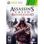Assassins Creed Brotherhood X360 Frete R$6,50 Botafogo Rj