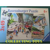 Quebra Cabeça - Puzzle - Ravensgurger - Infantil 3 X 49 Peça