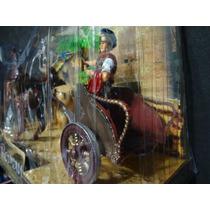 Gladiador Centurião Legionario Biga Romana Cavalo Carroça