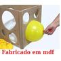 Medidores P/ Balões Bexigas/ Em Mdf Com Medidas De 3 Até 10