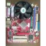 Kit Placa Mãe 775 Ddr1 865gm3-v+processador+cooler+memória!