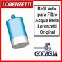 Refil Vela Para Filtro Acqua Bella - Rv-01 - Lorenzetti