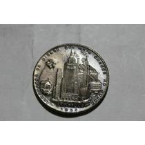 Medalha Lembrança Da Cidade Q + Cresce No Mundo - Veja Fotos
