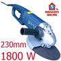 Esmerilhadeira Angular Profissional 1800w 230mm. Lixadeira