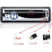 Mp3 Player Automotivo Usb Sd Silver Multilaser Auto Radio Fm