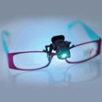 Luz Led Leitura Importada P/oculos Envio Gratis