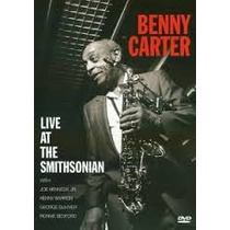 Dvd Benny Carter Live At The Smithsonian - Importado
