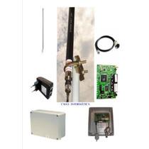 Kit Provedor Antena 25dbi + Pcba+ Pigtail+ Fonte Poe+ Caixa