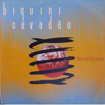Biquini Cavadão Lp Descivilização - Encarte - 1991