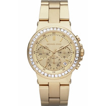 Relógio Michael Kors Mk5623 Gold Cristal