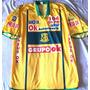 Camisa Brasiliense Usada Em Jogo 2002 Com Patch