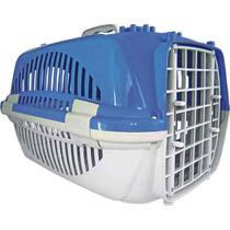 Caixa De Transporte Cães E Gatos Zooplast Azul