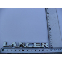 Emblema Lancer Mitsubishi