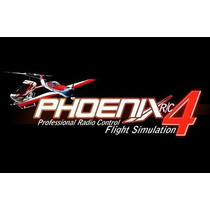 Simulador Phoenix Rc V4 Atualizavel Dvd C/ Frete Gratis!