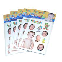 30 Cartelas 10 X 15 Cm Com Adesivos Personalizados