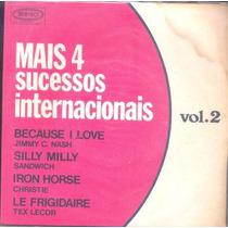Disco Compacto De Vinil - Mais 4 Sucessos Internacionais V.2