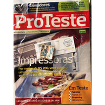 Revista Pro Teste 116 Agosto 2012 - Impressoras- Cdlandia