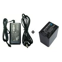 Kit Fonte Ac-l200 + Bateria P/ Sony Xr160 Cx110 Cx350 Cx360