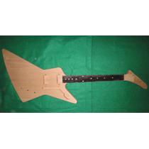 Corpo E Braço Guitarra Explorer Luthier Troca