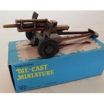 Canhão Militar 2ª Guerra 1:43 Exército Soldado Tanque Willys