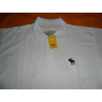 Camisa Polo Abercrombie And Fitch Branca M Lances A 1,