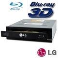 Gravador E Leitor De Cd Dvd Blu-ray 3d Lg 14x Sata Preto