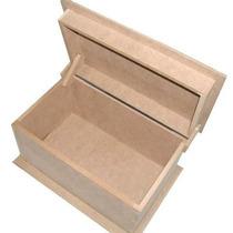 Caixa Bau Com Aba 33cm - Porta Jóias - Ferramentas