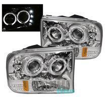 Tuning Imports Par De Farol Projector Ford F250 Imperdivél