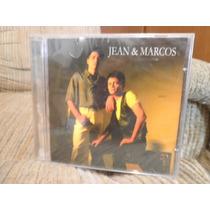 Cd Jean & Marco - 1997 - Não Vá Embora - Novo Lacrado