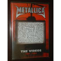Dvd Metallica The Videos 1989 2004 Lacrado !!!