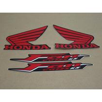 Kit Adesivos Honda Cg Fan 125 Ks 2011 Preta - Decalx
