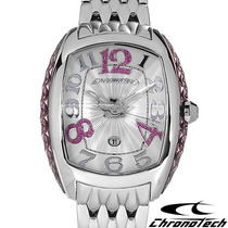 Relógio Chronotech Ct.7998l/16m Prisma Skeleton Invicta