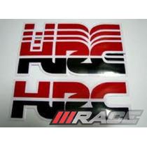 Adesivos Hrc Moto Honda Varias Cores Para Capacete Carenagem