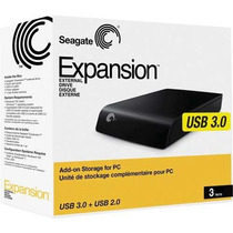 Hd Externo 3tb 3000gb Seagate Expansion Usb 3.0 Pc Mac Linux