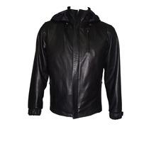 1056 Man Jacket Sports Couro Destacável Liner Invisível Capa