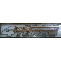 Emblema 4x4 Intercooler Turbo Hilux - Mmf Auto Parts