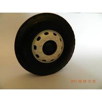 Rodas De Plastico 8cm Para Carrinho Caminhao Onibus