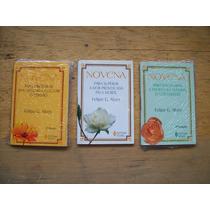 Novenas - Livros (novos Lacrados) 06 Volumes (livro De Bolso