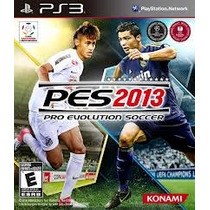Jogo Semi Novo Pro Evolution Soccer Pes 2013 Nacional Ps3
