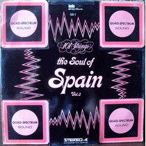 Lp Vinil - 101 Strings - The Soul Of Spain - Vol.3 - 1972
