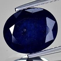 Elegante Safira Azul Oval 3,08 Cts.
