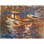 Barcos - Óleo Sobre Tela - Artista Gian Paolo
