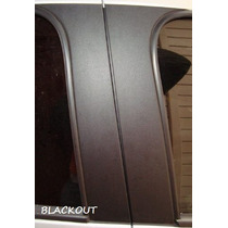 Adesivo Blackout Para Coluna - Siena, Picanto, Cross Fox, Ka