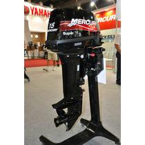 Motor Mercury 15hp Super/ 25hp Sea Pro Pronta Entrega Boatsp