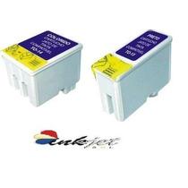 Kit 3 Cartuchos P/ Epson 480 580 600 640 800 C20 C40 Compatí