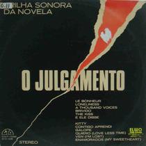 O Julgamento Lp Trilha Sonora Novela Tv Tupi 1977 Internac.